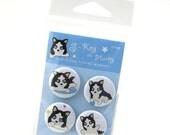 Husky Magnets - S-Key the Husky Puppy MASK001