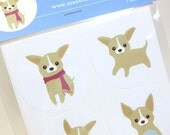 Chihuahua Stickers - Chee-S the Chihuahua Puppy STKL002