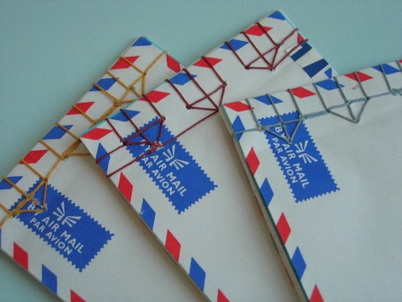 Airmail Envelope Notebook (As seen in Readymade magazine)
