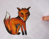 SALE - Foxy - Original Drawing