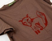 Mr. Fox - t-shirt - Unisex sizes XXS or XS - shandke