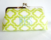 ADD ON- Monogram Option for Kisslock Frame Clutch Purses and Totes Bridesmaid Bride Wedding Gifts Preppy Prep Bridal