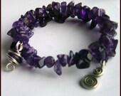 SPRING CLEARANCE - Amethyst Love bracelet