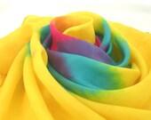 Playsilk Bright Rainbow Star Mandala