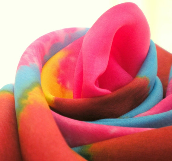 Playsilk Circus Star Mandala Tie Dye