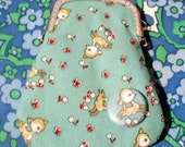 Deer Coin Purse and Button set