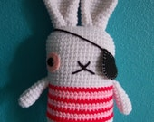 pirate bunny crochet pattern pdf
