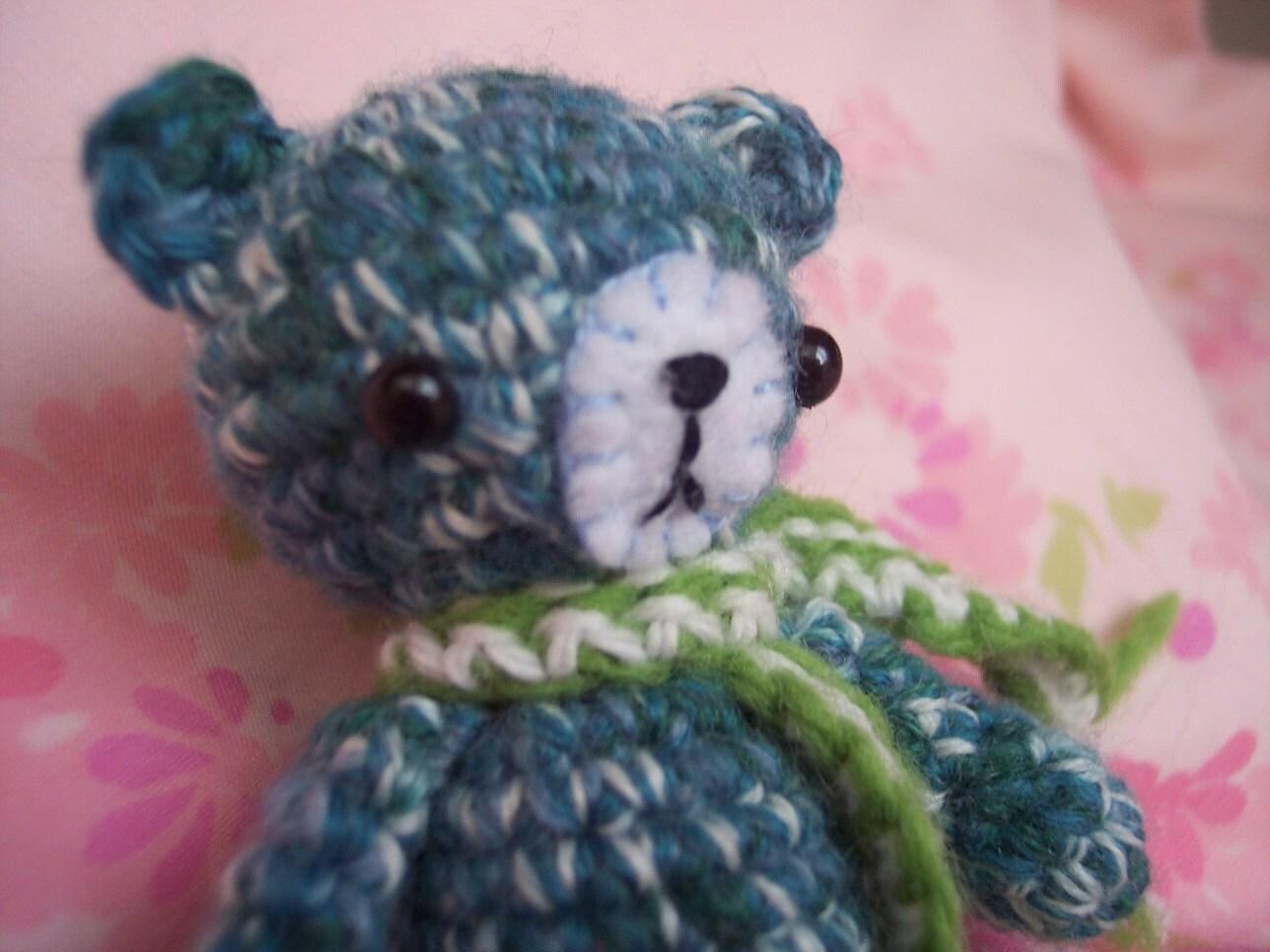 Tiny bear crochet amigurumi PATTERN in PDF by tattiscuties ...