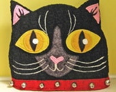 Reserved Listing for sunnybuick Black Cat Head Tea Cozy