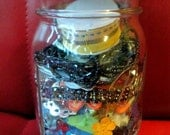 Jar of Mixed Media Findings - great goodies