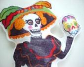 Traditional Dead -La Catrina- Plush Toy