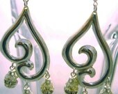 Paisley Sparkle Earrings by Diana