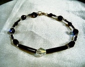 Ebony Crystal Bracelet by Diana