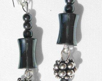 Hematite Delight Earrings by Diana