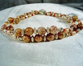 SALE-Blushing Silver Bracelet by Diana