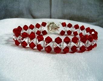 Scarlet Brilliance Bracelet by Diana