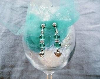 SALE-Jazzy Hearts Earrings by Diana