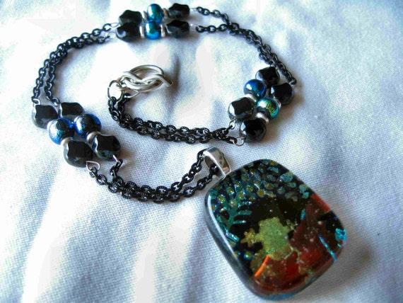 Ebony Frog Necklace by Diana