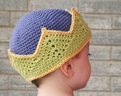 The Original Crochet Crown Pattern - Child 3 - 4 yrs