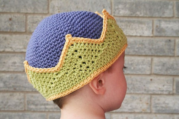 Fit for a King or Queen Crown Child 3 - 4 yrs Pattern