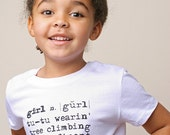 Definition of Girl Boutique Tee White 2T
