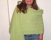 Lime Shawl for Spring