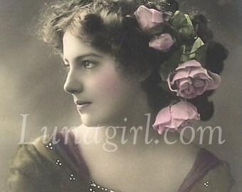 1000 LADIES PHOTOS, vol 2, DOWNLOAD, Vintage Images Women, Victorian Edwardian 1920s Postcards, showgirls bathing beauties actresses mothers