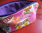 RESERVED FOR modifiedmomma Sugar Skull Shimmer Pouch