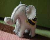 A little bitty elephant