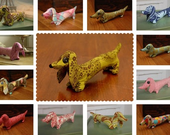 Fabric Dachshund Sewing Pattern-PDF