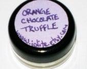 Moonlight Kisses- Vegan Lip Balm- Orange Chocolate Truffle- .75 oz