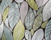 Leaves and Peas - scandinavian fabric