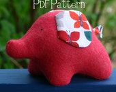 Eli Elephant PDF Pattern