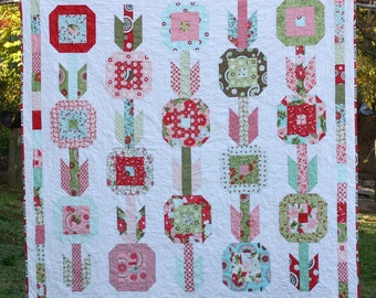 Quilt Pattern PDF - In Bloom