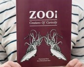 Zoo Creatures Of Curiosity - A Fictitious Scientific Journal - Paperback Book - Jennifer Weitman Author - Karl Addison Author Illustrator