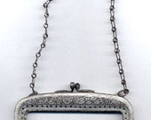 Antique Purse Frame with Handle