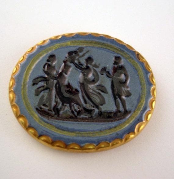 Cameo Cab - Ceramic - Cabochon