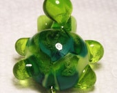 Little Green Turtle Pendant