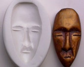 TRIBAL FACE MASK 2 POLYMER CLAY MOLD