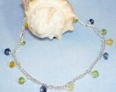 Stone Chips Ankle Bracelet