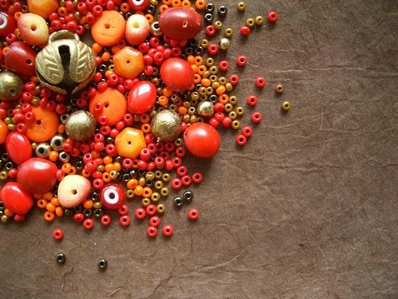 Autumn Bead Mix
