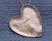 Reticulated Heart Pendant  for grandmajudykay