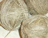Nettle and Hemp yarn Handspun