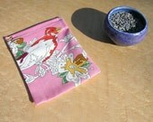 Eco Friendly Lavender Dryer Bag with Lavender - Paint By Numbers Birds
