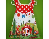 Garden Gnome Smock - 3T to 4T - Speciality Fabric