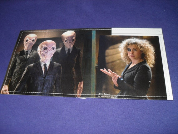 River Song and the Silence -Doctor Who Wallet