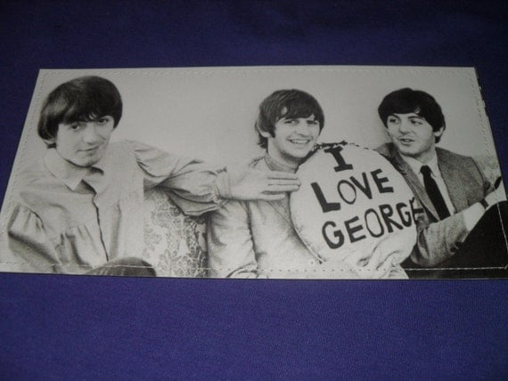 I Love George-Beatles-Wallet