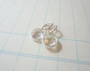 Add a Charm - Channel Set Swarovski Crystal - CLEAR