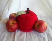 Fall Apple Beanie Hat- Custom Made for You...0-3m,3-6m,6-9m,12m,18m,etc...