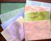 Handmade envelopes (set of 8) - Nature